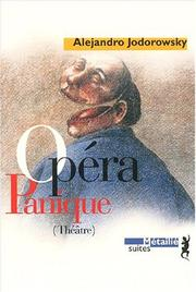 Cover of: Opéra panique