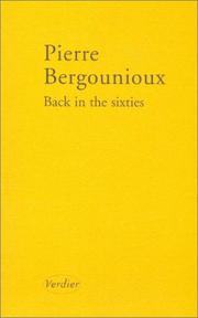 Cover of: Back in the Sixties (en français)