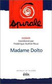 Cover of: Madame Dolto