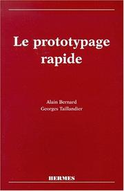 Cover of: Le prototypage rapide