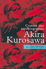 Cover of: Comme une autobiographie