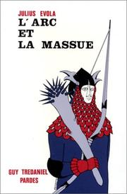 Cover of: L'Arc et la Massue