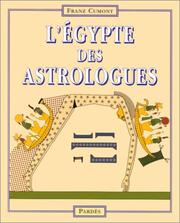 Cover of: L'Egypte des astrologues