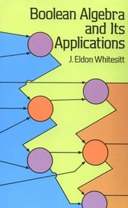 Cover of: Boolean algebra and its applications