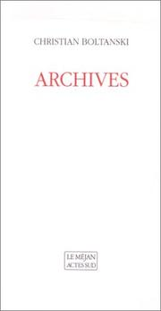 Cover of: Archives