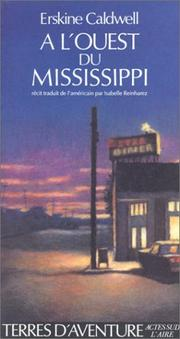 Cover of: A l'ouest du Mississippi