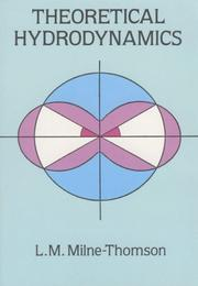 Cover of: Theoretical hydrodynamics by L. M. Milne-Thomson