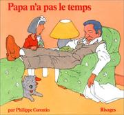 Cover of: Papa n'a pas le temps