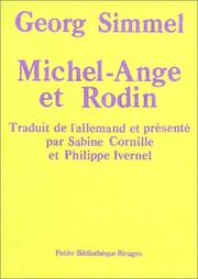 Cover of: Michel-Ange et Rodin