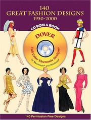 Cover of: 140 Great Fashion Designs, 1950-2000, CD-ROM and Book