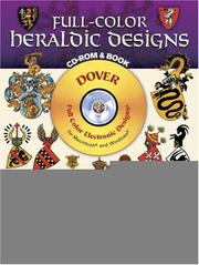 Cover of: Full-Color Heraldic Designs CD-ROM and Book | Dover Publications, Inc.