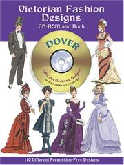 Cover of: Victorian Fashion Designs CD-ROM and Book