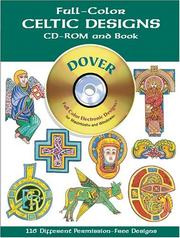 Cover of: Full-Color Celtic Designs CD-ROM and Book