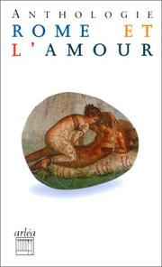 Cover of: Rome et l'amour