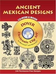 Cover of: Ancient Mexican Designs CD-ROM and Book | Dover Publications, Inc.