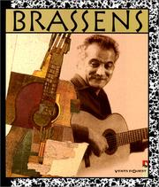 Cover of: Brassens en bande dessinée, 1952-1972