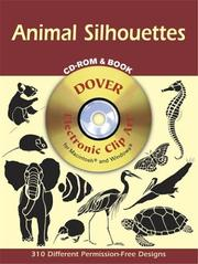 Cover of: Animal Silhouettes CD-ROM and Book
