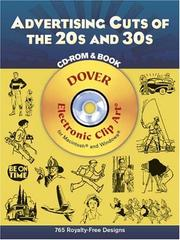 Cover of: Advertising Cuts of the 20s and 30s CD-ROM and Book | Dover Publications, Inc.