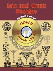 Cover of: Arts and Crafts Designs CD-ROM and Book | Marty Noble