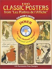 Cover of: 120 Classic Posters from Les Maitres de lAffiche CD-ROM and Book | Dover Publications, Inc.