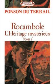 Cover of: Rocambole (Tome 1)
