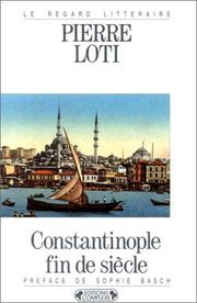 Cover of: Constantinople fin de siècle