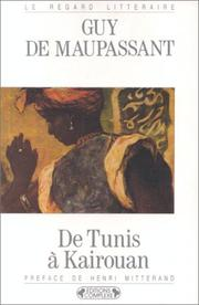 Cover of: De Tunis à Kairouan