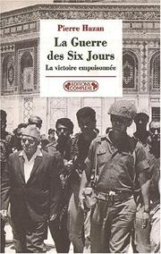 Cover of: 1967, la guerre des Six Jours by Pierre Hazan