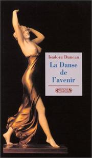 Cover of: La danse de l'avenir