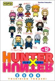 Cover of: Hunter X Hunter, tome 12