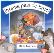 Cover of: Promis, plus de bruit !