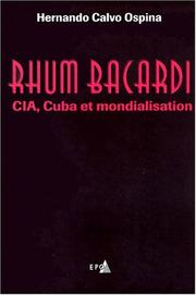 Cover of: Rhum Bacardi