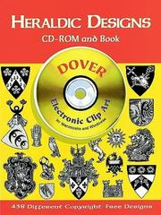Cover of: Heraldic Designs CD-ROM and Book | Dover Publications, Inc.