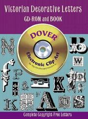 Cover of: Victorian Decorative Letters CD-ROM and Book | Dover Publications, Inc.