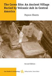 Cover of: The Ceren Site | Payson D. Sheets