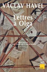 Cover of: Lettres à Olga