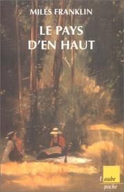 Cover of: Le Pays d'en haut