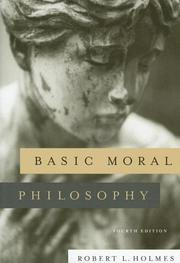 Cover of: Basic Moral Philosophy | Robert L. Holmes
