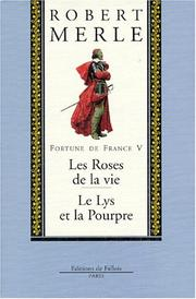 Cover of: Fortune de France, volume V