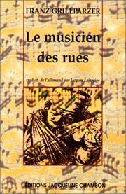 Cover of: Le Musicien des rues
