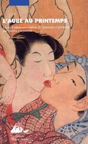 Cover of: L'Aube au printemps