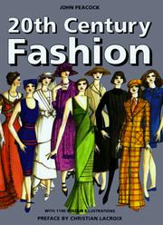 Cover of: 20th-century fashion
