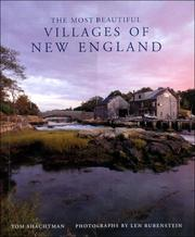 Cover of: The most beautiful villages of New England