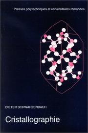 Cover of: Cristallographie