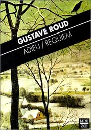 Cover of: Adieu / Requiem