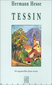 Cover of: Tessin