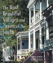 Cover of: The most beautiful villages and towns of the South