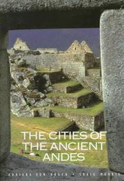 Cover of: The cities of the ancient Andes | Adriana Von Hagen