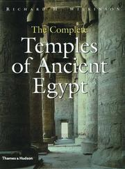 Cover of: The complete temples of ancient Egypt