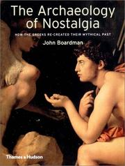 Cover of: The Archaeology of Nostalgia